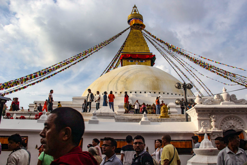 Nepal tour packages - Boudhanath stupa