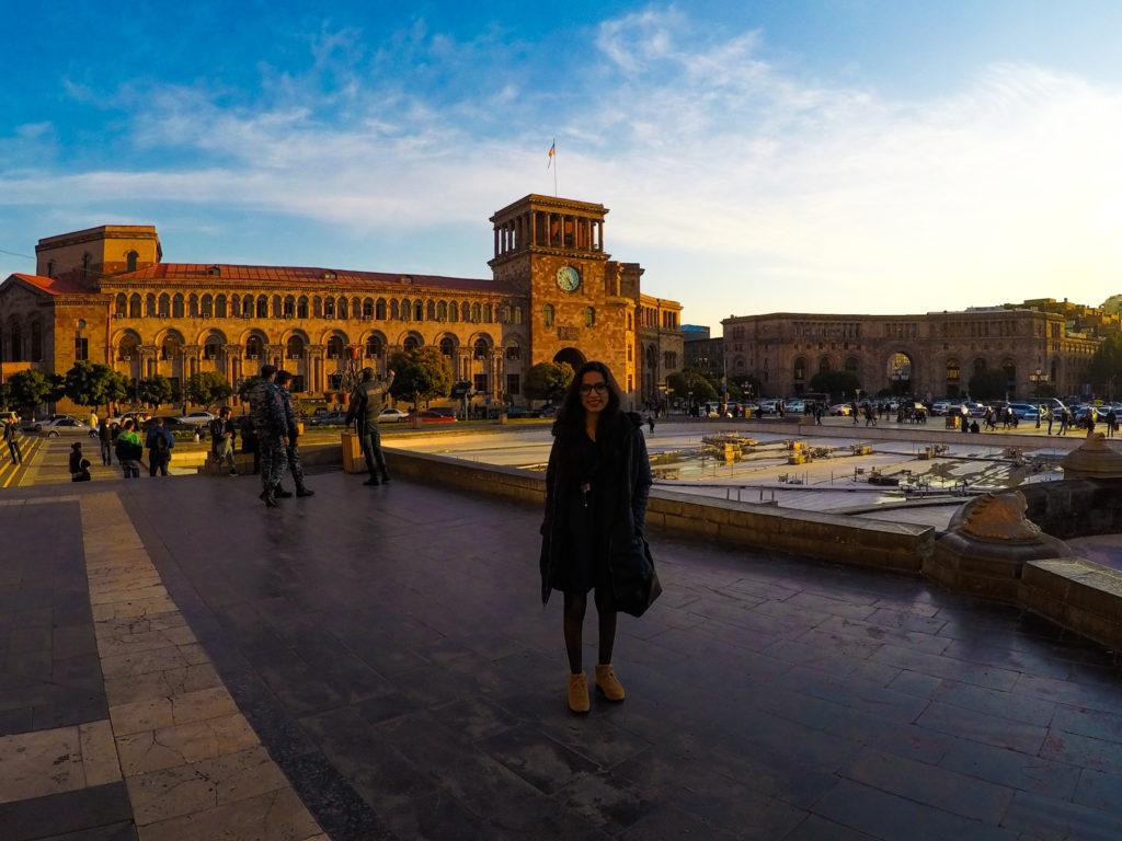 Republic square, Armenia