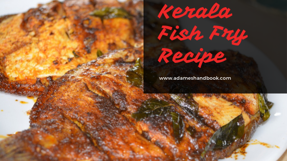 Kerala Fish Fry Recipe