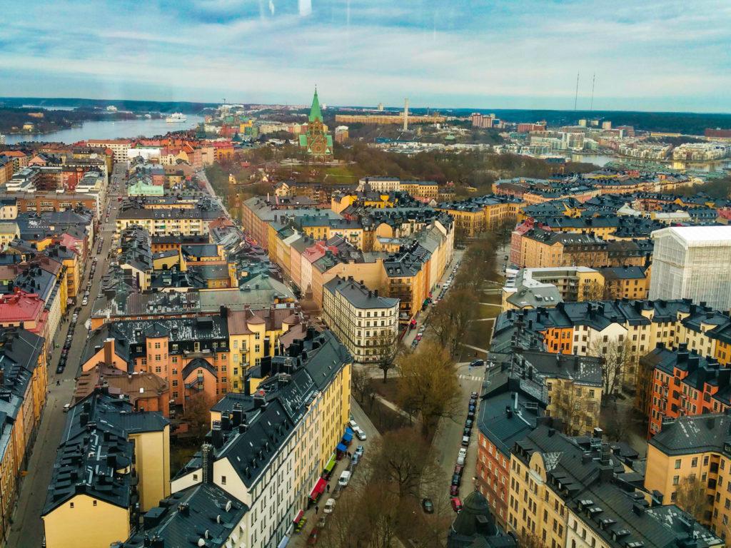 Stockholm- sky view