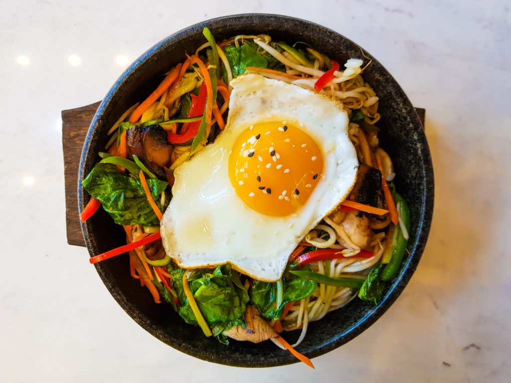 Bibimbap At Simply Oishii