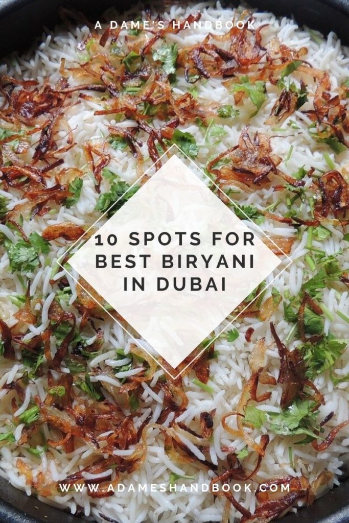 Best Biriyani In Dubai