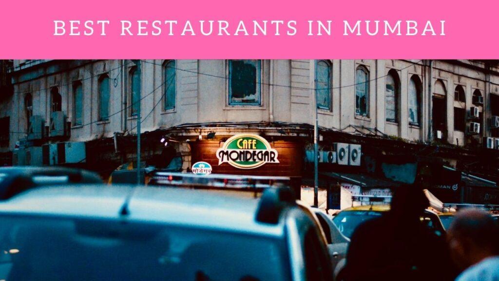 Best Restaurants In Mumbai