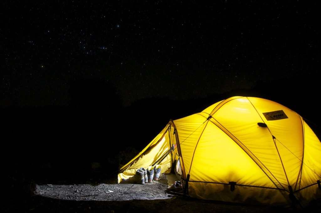 camping in uae