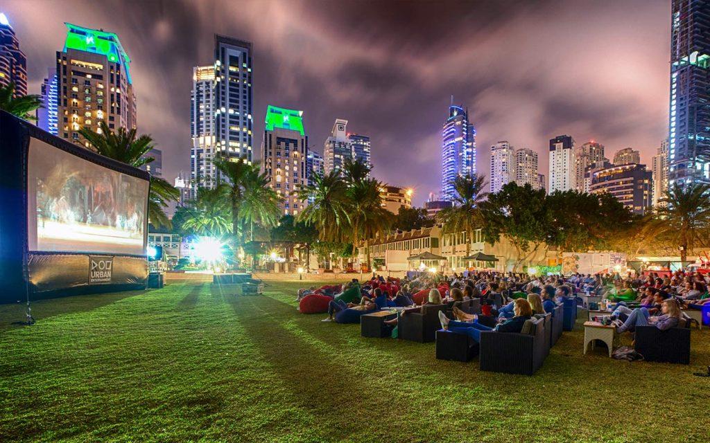 outdoor cinema uae